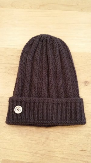 Seeberger Knitted Hat dark brown