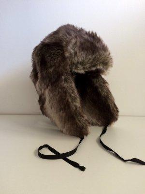 Seeberger Mütze Winter Kunstfell Fake Fur Wintermütze