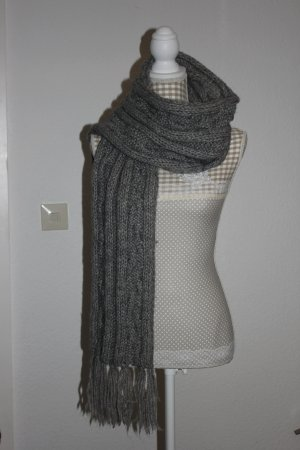Seeberger* Original, super kuscheligen Schal, Strickschal, grau