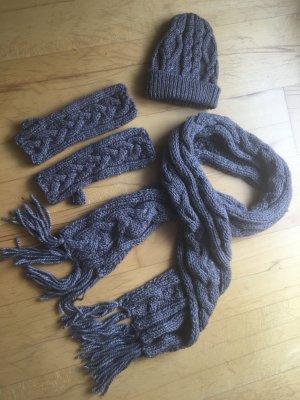 Seeberger Schal Mütze Handschuhe