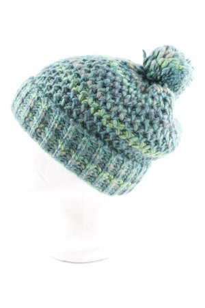 Seeberger Knitted Hat color gradient fluffy