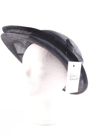 Seeberger Strohhut schwarz Elegant