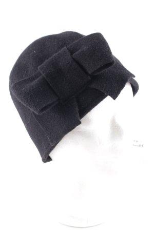 Seeberger Wollhut schwarz Elegant