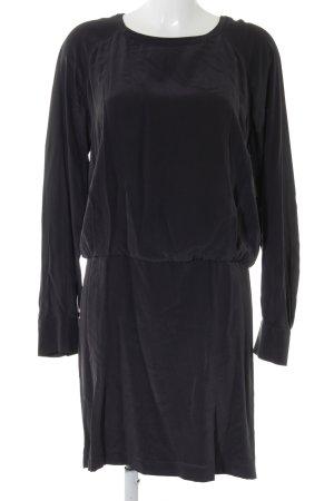SeeByChloé Falda estilo lápiz gris antracita-negro elegante