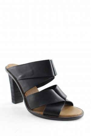 SeeByChloé High Heel Sandal black-gold-colored elegant