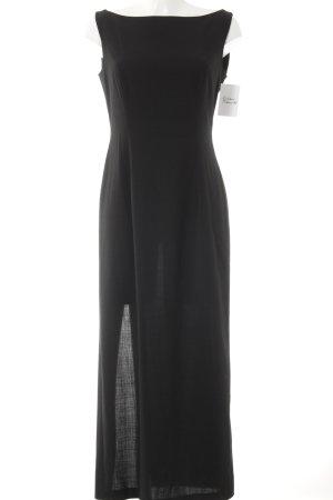 Seeler Robe longue noir élégant