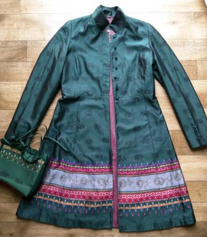 Frock Coat multicolored silk