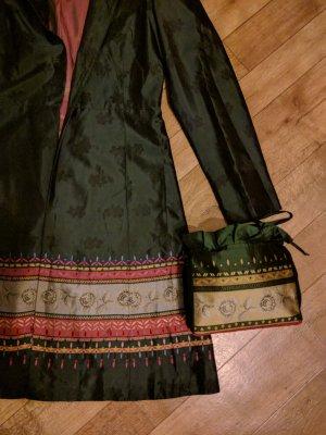 Bolso folclórico multicolor fibra textil
