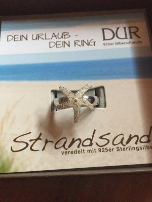 Silver Ring cream-silver-colored