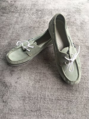 Pier one Sailing Shoes sage green