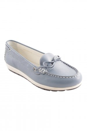 Sailing Shoes cornflower blue-white casual look