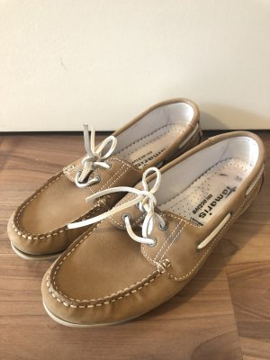 Tamaris Sailing Shoes light brown