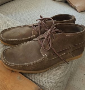 N n.d.c. made by hand Boots grey brown