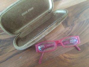 Sehbrille in Pink von MIUMIU