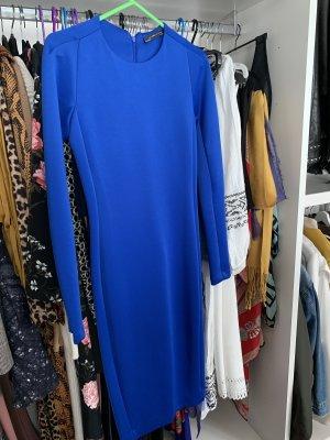 Zara Robe mi-longue bleu
