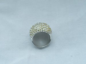 Silver Ring silver-colored real silver