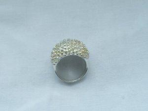 sehr ausgefallener Ring Gr. 54 aus 925 Silber wenig getragen