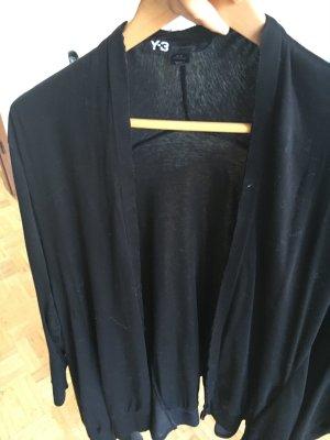 Sehr ausgefallener Y3 Cardigan, schwarz, super schnitt, tolles Material Größe s