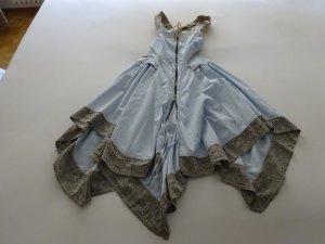 Sehr ausgefallenes Girbaud Maxi Kleid asymmetrisch 36 Hingucker