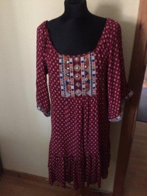 India Babydoll-jurk veelkleurig