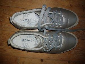 Sehr bequeme,leichte Schuhe von Legero in Silber, Gr.39