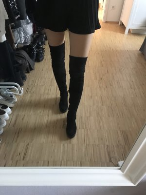 Topshop Stivale cuissard nero
