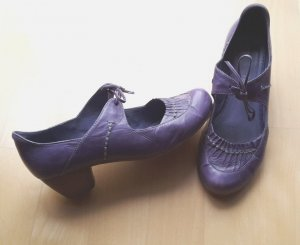 Sehr bequeme Pumps in Lila