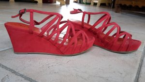 Tamaris High-Heeled Sandals red