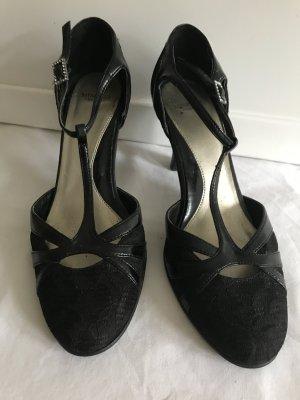 Sehr bequeme schöne High heels Gr 38 für jeden Anlass geeignet neuwertig
