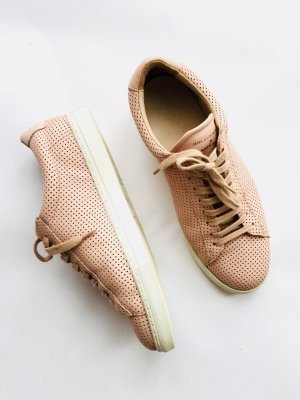 Lace-Up Sneaker rose-gold-coloured leather