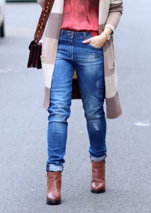 Sehr coole Boyfriend Jeans im Used Look von Marc Aurel Gr. 34 Neu mit Etikett
