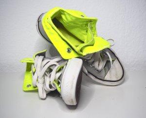 Sehr cooler Chuck in grau und neon gelb