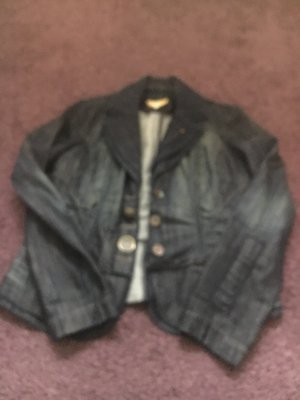 Biba Denim Jacket dark blue