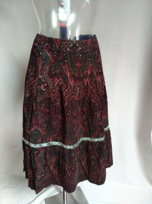 More & More Jupe taille haute multicolore