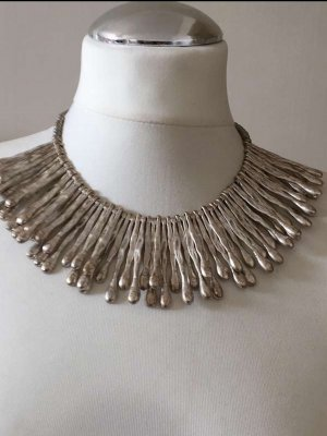 Collar estilo collier color plata