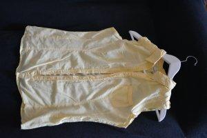 Fanny USA Blouse sans manche jaune foncé-jaune citron vert coton