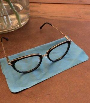 Sehr elegante Brille in Schwarz- Gold
