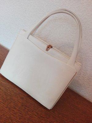 Sehr elegante Henkelstasche weiß