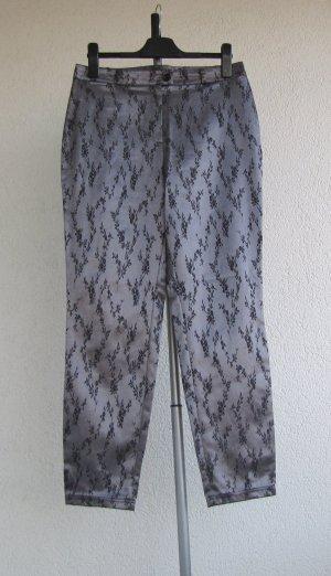 Pantalone cinque tasche multicolore Tessuto misto