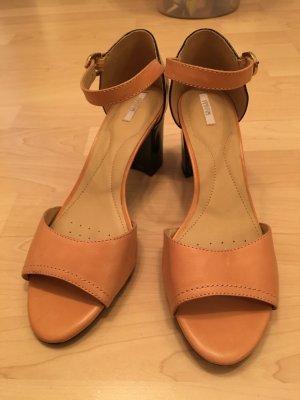 Geox High-Heeled Sandals black-nude