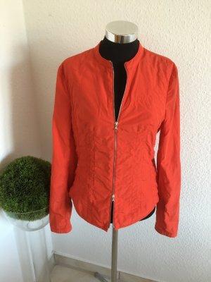 Sehr elegante süße neuwertige Jacke von Orwell rot-orange Größe 34