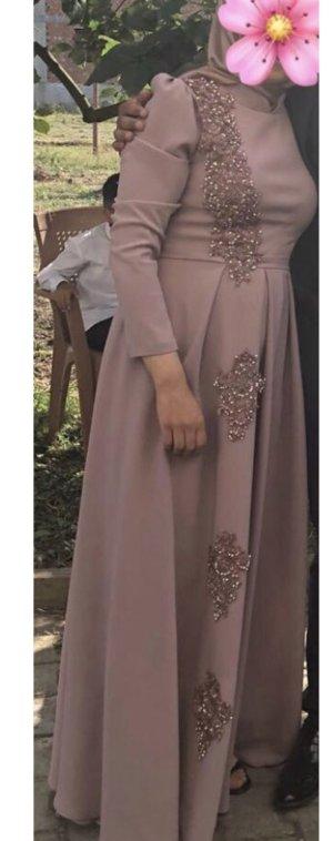 sehr elegantes Abendkleid in rose