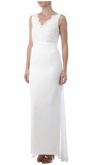 Sehr elegantes & hochwertiges Brautkleid (Farbe: offwhite) mit Schleppe - Young Couture