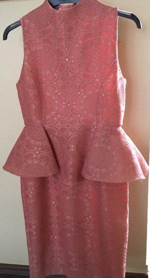 Sehr elegantes Kleid pink pastel gr 34