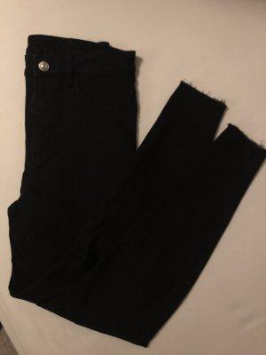 H&M Jeans taille haute noir