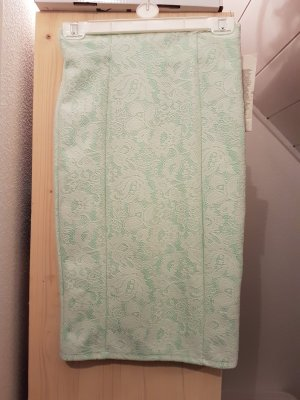 Lace Skirt white-turquoise