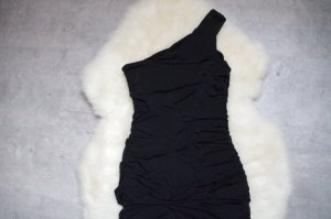 sehr figurbetontes, schwarzes Oneshoulder Kleid
