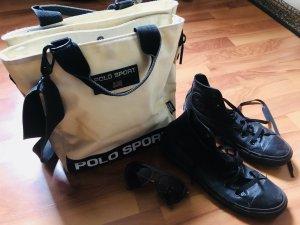 Sehr geräumige POLO RALF LAUREN Tasche Crossbody tragbar