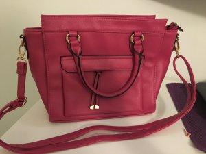 Sehr gut erhalte Handtasche, Pink