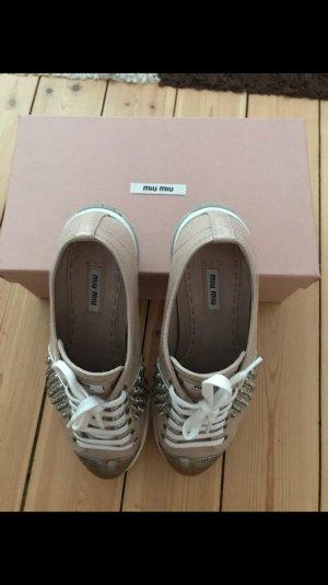 Sehr gut erhaltene Schuhe von Miu Miu